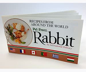 Free Pel-Freez Rabbit Recipe Book