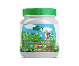 Free Organics Family Grass Kids Crazy Chocolate Whey