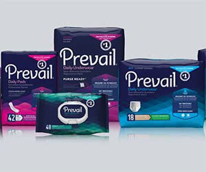 Free Prevail Protective Hygiene Products Sample Packs