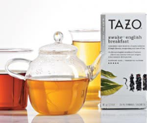 Free Tazo Tea Sample Kit