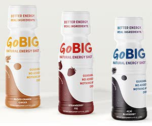 Free GoBig 3 Guarana Energy Shots