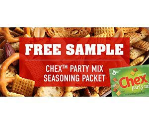 Free Chex Party Mix Seasonings Packet