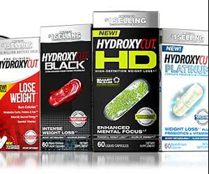 Free HydroxyCut Weight Loss, Enhanced Mental Focus And More Nutritional Supplements