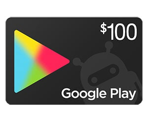 Free $100 Google Play Gift Card