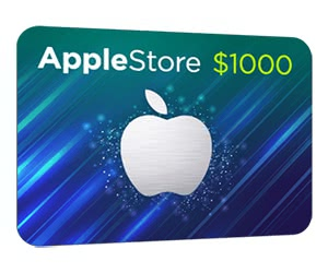 Free $1000 Apple Store Gift Card