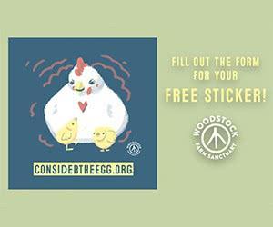 Free Woodstock Farm Sanctuary Sticker