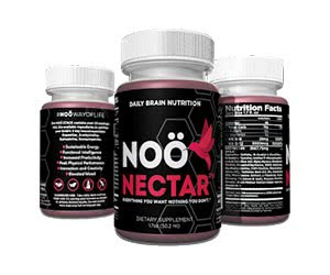 Free NOO Nectar Brain Nutrition Drinkable Shot 30-Pack Supply