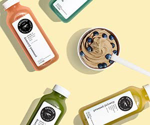 Free Pressed Juicery Juice Beverage, Freeze And Juice Gummy Bears