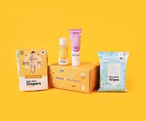 Free Walmart Baby Registry Hello Bello Baby Products Box