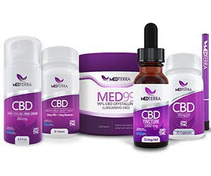Free MEDTERRA Premium Medicinal CBD Sample