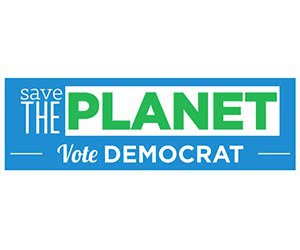 "Free ""Save The Planet"" Sticker"