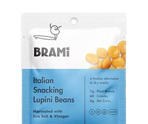 Free Brami Italian Snacking Lupini Beans Sample