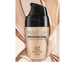 Free Make Up Professional Liquid Foundation Sample