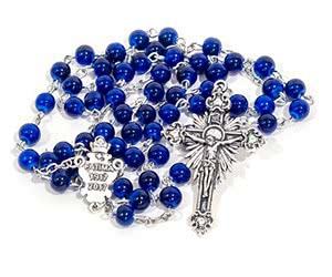 Free Fatima Centennial Rosary Beads Sample