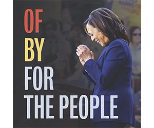 Free Kamala Harris For The People Limited-Edition Sticker
