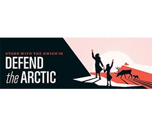 "Free ""Defend The Arctic"" Sticker"