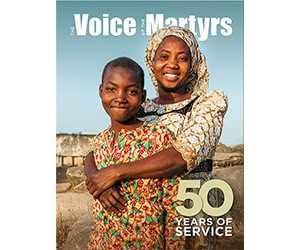 """Free """"The Voice Of The Martyrs"""" Magazine Subscription"""