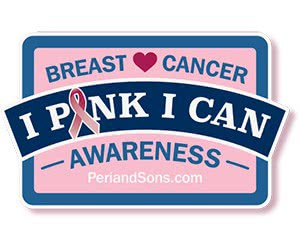 Free Peri And Sons Breast Cancer Awareness Magnet