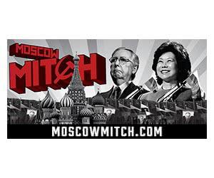Free Moscow Mitch Bumper Sticker