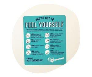 Free Coppafeel Vinyl Shower Sticker