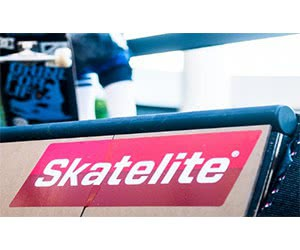 Free Skatelite Sticker