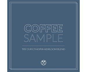 Free Groundwork Coffee Sample