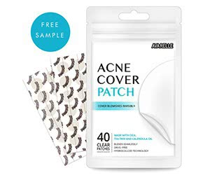 Free Avarelle Acne Cover Patch Sample
