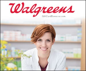 Free Walgreens® Pharmacy Gift Card