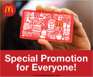 Free $100 McDonald's Arch Card
