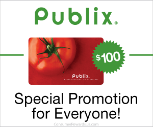 Free $100 Publix Gift Card