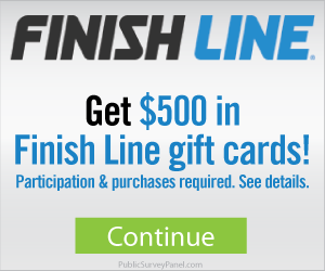 Free $500 In Finish Line Gift Cards
