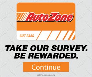 Free $150 Autozone Gift Card