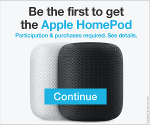 Free  Apple HomePod
