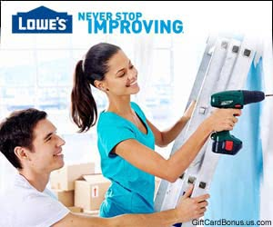 Free $100 Lowe's Gift Card
