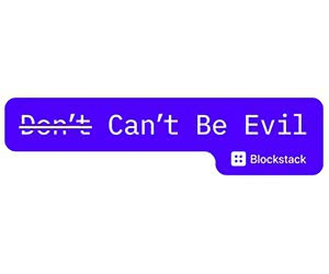 """Free """"Don't/Can't Be Evil"""" Sticker"""