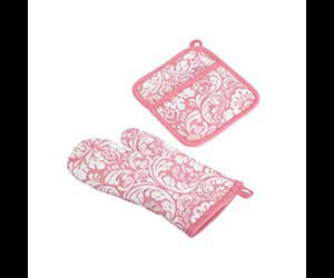 Free Chicago Fabric Mitt And Potholder Set