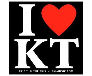 "Free ""I Love KT"" Sticker"
