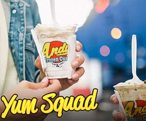 Free YUM SQUAD Frozen Custard Treat