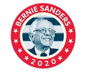 Free FDR-inspired Bernie Sticker