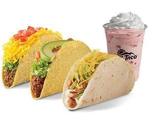 2 Free Del Taco + Premium Shake On Your Birthday