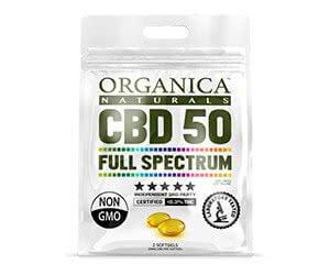 Free Organics Naturals CBD Sample Pack