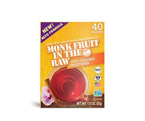 Free Keto-Certified Monk Fruit In The Raw Zero Calorie Sweetener Sample