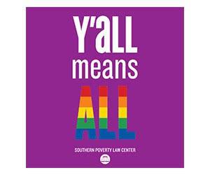 "Free ""Y'all Means All"" Bumper Sticker"