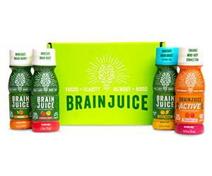 Free Brain Juice Liquid Energy Supplement