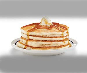 Free iHop Pancakes + Birthday Portion from iHop