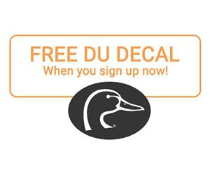 Free Ducks Unlimited Decal