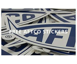 Free AFTCO Sticker