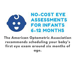 Free Eye Assessments For Infants 6-12 Months