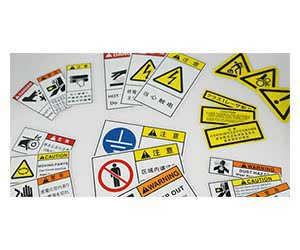 Free Asian Safety Labels Samples
