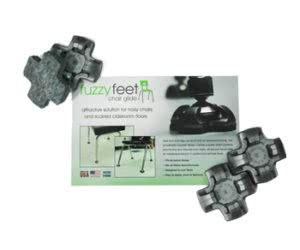 Free Fuzzy Feet Chair Glides Sample